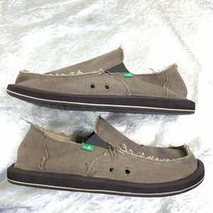 Sanuk Vegabond surf shoes size 11